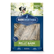 Barkworthies Belly Bark Green Tripe Sticks Dog Treats, 7-oz Bag
