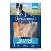 Barkworthies Medium Breed Variety Pack Dog Treats