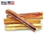 Barkworthies Odor-Free USA Bully Sticks Dog Treats, 4