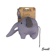 Beco Pets Estella the Elephant Eco-Friendly Plush Dog Toy, Small