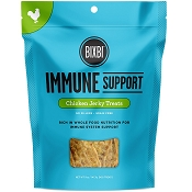 BIXBI Essentials Immune Support Chicken Jerky USA Dog Treats, 12-oz Bag