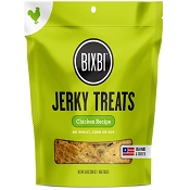 BIXBI Original Chicken Recipe Jerky USA Dog Treats, 10-oz Bag