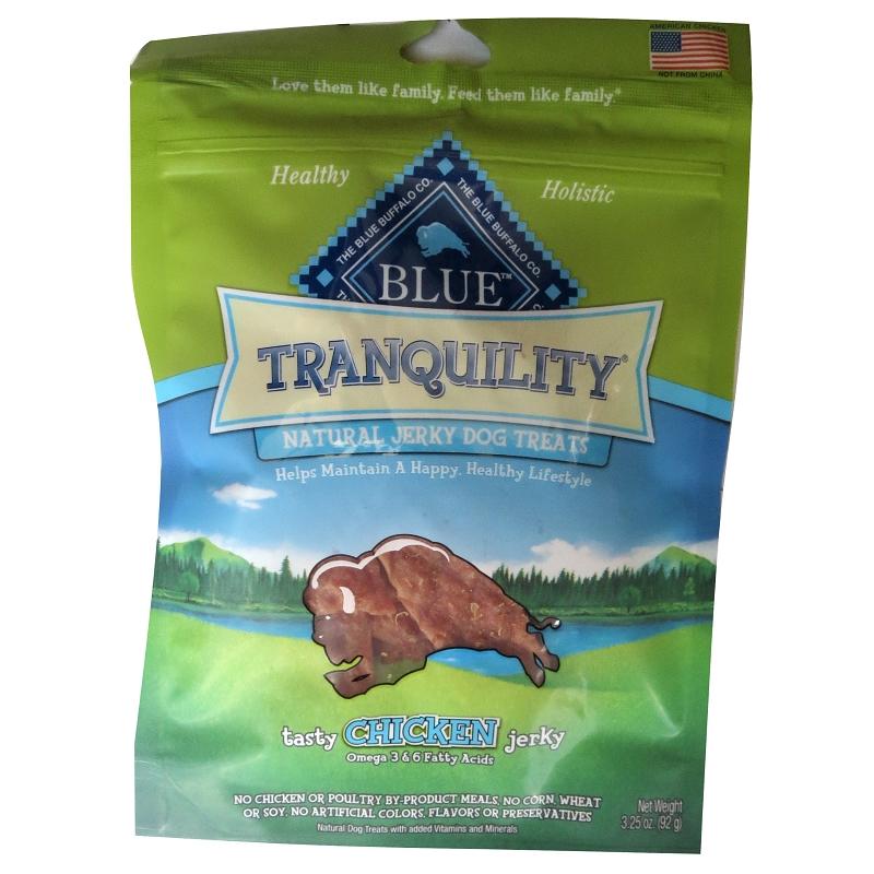 Blue Buffalo Tranquility Chicken Jerky Dog Treats