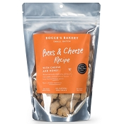 Bocce's Bakery Small Batch Bees & Cheese Recipe Dog Treats, 8-oz Bag