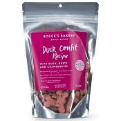 Bocce's Bakery Small Batch Duck Confit Recipe Dog Treats, 8-oz Bag