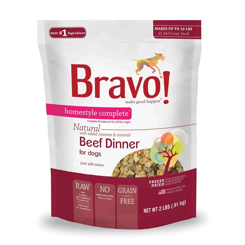 Bravo Freeze Dried Dog Food