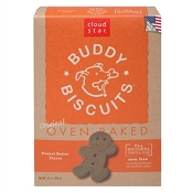 Cloud Star Oven Baked Buddy Biscuits Peanut Butter Flavor Dog Treats
