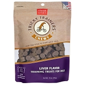 Cloud Star Chewy Tricky Trainers Liver Flavor Dog Treats