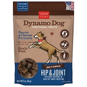 Cloud Star Dynamo Dog Hip & Joint with Bacon & Cheese Dog Treats, 5 oz