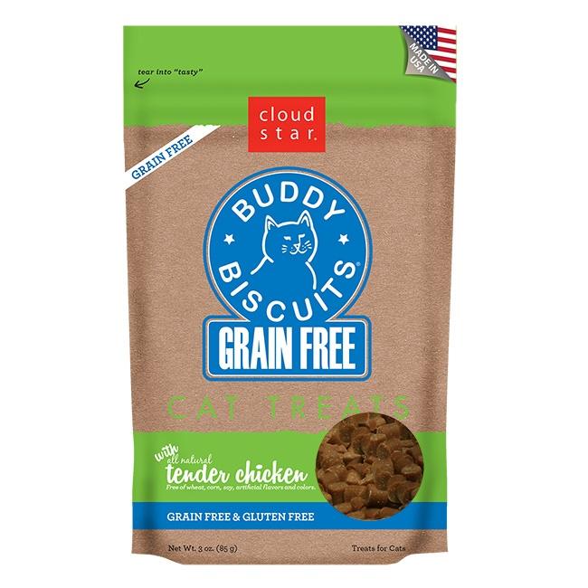 Cloud Star Grain Free Buddy Biscuits Tender Chicken Flavor