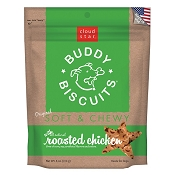 Cloud Star Soft & Chewy Buddy Biscuits Roasted Chicken Flavor Dog Treats