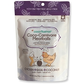 Cocotherapy Coco-Carnivore Meatballs Chicken, Basil & Coconut Recipe Freeze-Dried Dog Treats