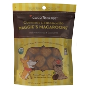 Cocotherapy Maggies Macroons Coconut Lemoncello Dog Treats