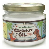 Cocotherapy Organic Virgin Coconut Oil for Dogs & Cats, 8 Ounces