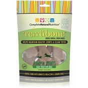 Complete Natural Nutrition Terrabone Jump'n Joints Dental Chew Dog Treats, 10-Count Small Size Bones