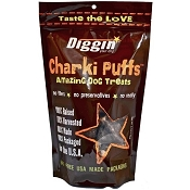 Diggin Your Dog Charki Puffs Dog Treats