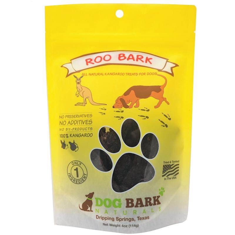 Dog Bark Naturals Roo Bark Kangaroo Treats For Dogs