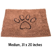 Dog Gone Smart Dirty Dog Doormat, Medium, Brown