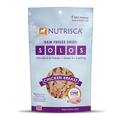 Nutrisca Solos Chicken Breast Freeze-Dried Dog Treats