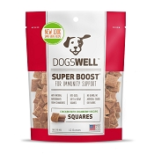 Dogswell Super Boost Squares Chicken with Cranberry Recipe Dog Treats