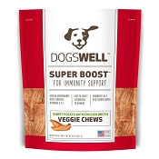 Dogswell Super Boost Sweet Potato & Chicken Broth Veggie Chews Dog Treats, 15 Ounces