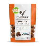 Dogswell Vitality Meatballs Beef Recipe Dog Treats, 15 Ounces