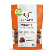 Dogswell Vitality Meatballs Chicken Recipe Dog Treats, 15 Ounces