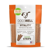 Dogswell Vitality Chicken Jerky Strips Dog Treats, 12 Ounces