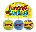 Yeowww! Catnip My Cats Balls Cat Toys