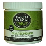Earth Animal Yeast Free Flea and Tick Program Herbal Internal Powder For Dogs & Cats