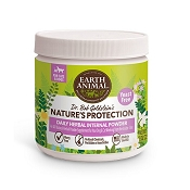 Earth Animal Nature's Protection Daily Yeast-Free Herbal Internal Powder Flea and Tick Remedy for Dogs & Cats