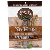 Earth Animal No-Hide Venison Recipe Stix Dog Treats, 10 Pack