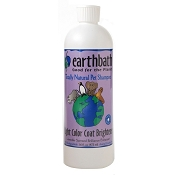 Earthbath Light Color Coat Brightener Shampoo For Dogs