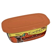 Earthborn Holistic Peppers Pot Roast Grain-Free Natural Moist Dog Food, 8-oz, case of 8