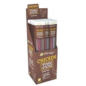 Etta Says! YUMM Sticks Chicken Recipe Dog Treats, Case of 24 Meat Sticks