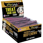 Etta Says! Premium Crunchy Beef Chews Dog Treats, 7