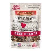 Evanger's Nothing but Natural Beef Hearts Freeze-Dried Dog & Cat Treats