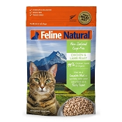Feline Natural Chicken & Lamb Feast Raw Freeze-Dried Cat Food, 11-oz Bag