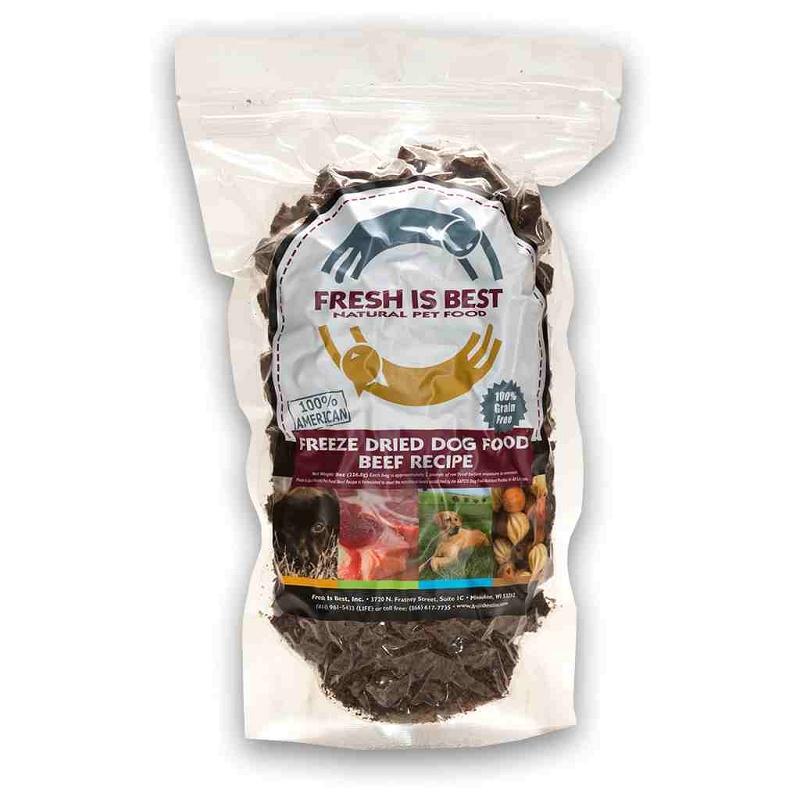 fresh is best beef recipe freeze dried dog food 8 oz bag. Black Bedroom Furniture Sets. Home Design Ideas