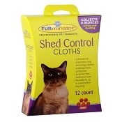 FURminator Shed Control Cloths for Cats