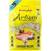 Grandma Lucy's Artisan Grain-Free Chicken Freeze-Dried Dog Food, 3-lb Bag