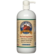 Grizzly Salmon Oil Dog & Cat Omega 3 Fatty Acids Supplement, 32-oz Bottle