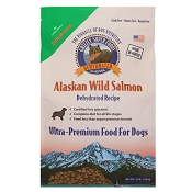 Grizzly Super Foods Wild Alaskan Salmon Ultra Premium Dehydrated Dog Food, 3-lb