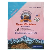 Grizzly Super Foods Wild Alaskan Salmon Oven-Baked Cat Food, 1-lb Bag