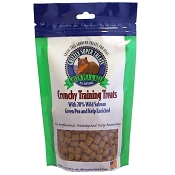 Grizzly Super Treats Wild Salmon, Green Pea & Kelp Crunchy Training Treats for Dogs, 5-oz Bag