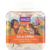 Halo Liv-a-Littles Grain-Free Chicken Breast Freeze-Dried Dog & Cat Treats