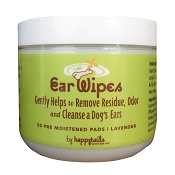 Happytails Ear Wipes for Dogs