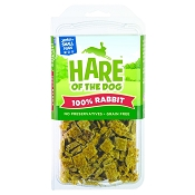 Hare of the Dog 100% Rabbit Jerky Treats for Small Dogs, 2.5-oz Pack