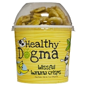 Healthy Dogma Blissful Banana Crisps Dog Treats