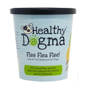 Healthy Dogma Flee Flea Flee! Flea and Tick Powder Repellent for Dogs